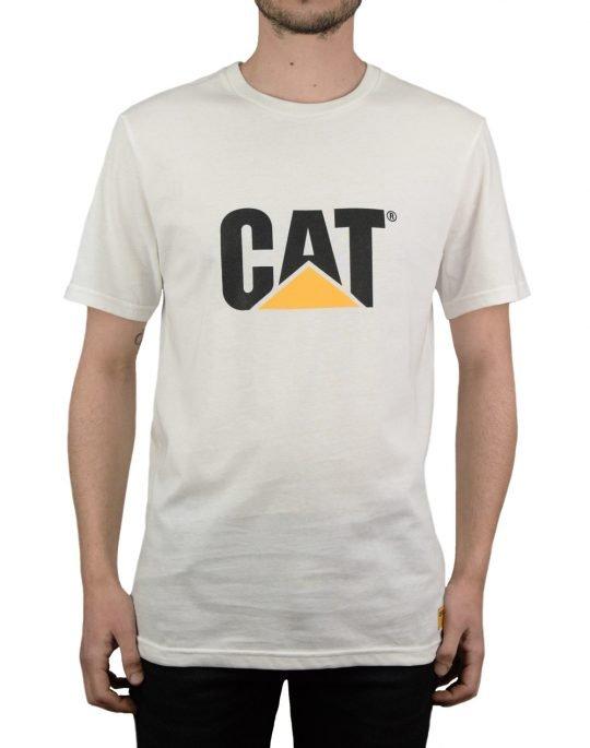 Caterpillar Classic Cat Tee (2511243) White