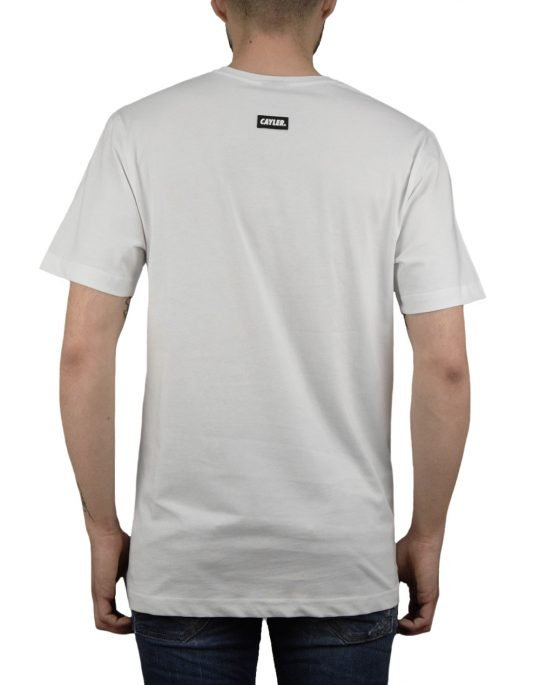 Cayler & Sons 2PAC Rollin Tee (WL-SS19-AP-43) White