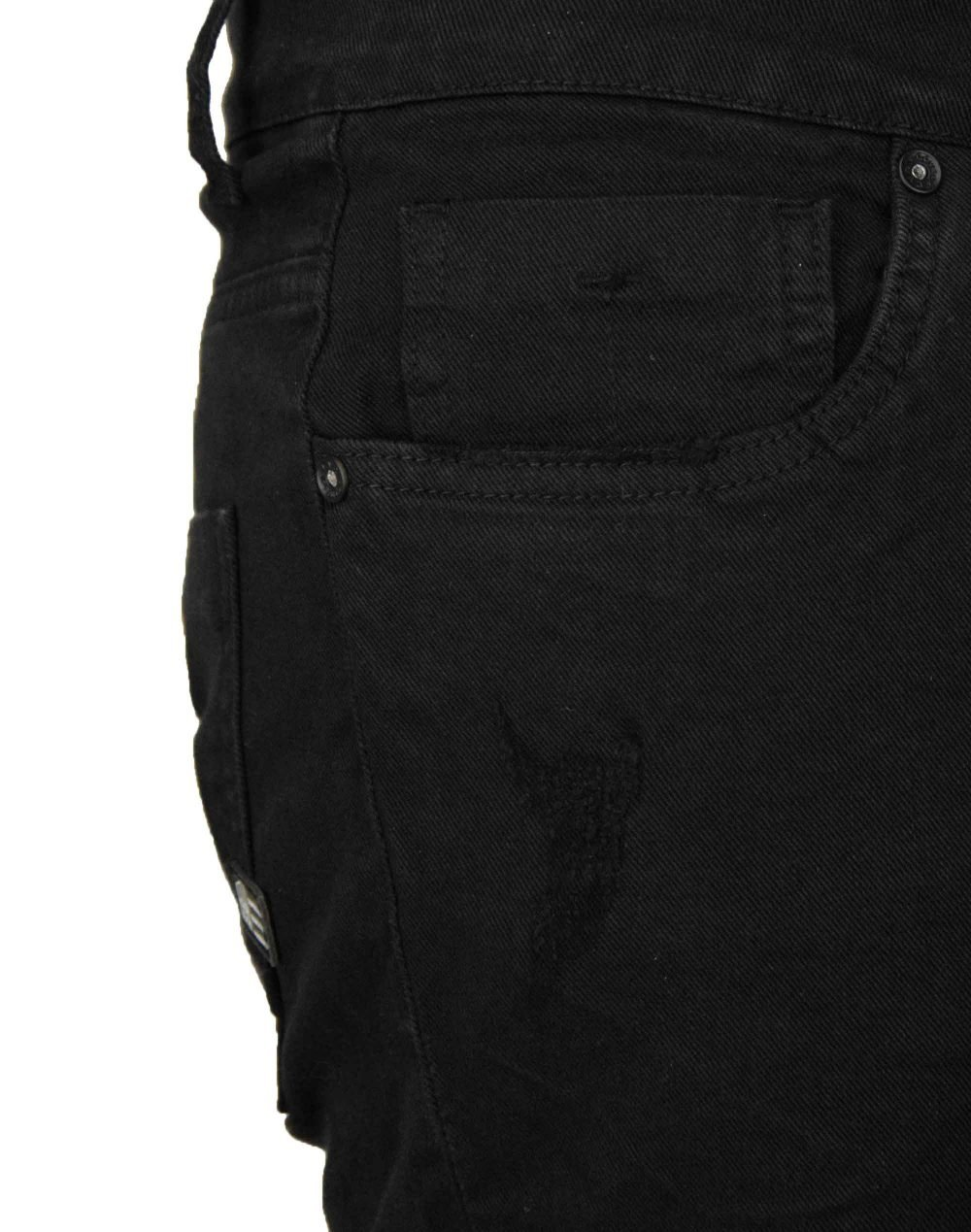 Cover Biker (I0341) Black Denim