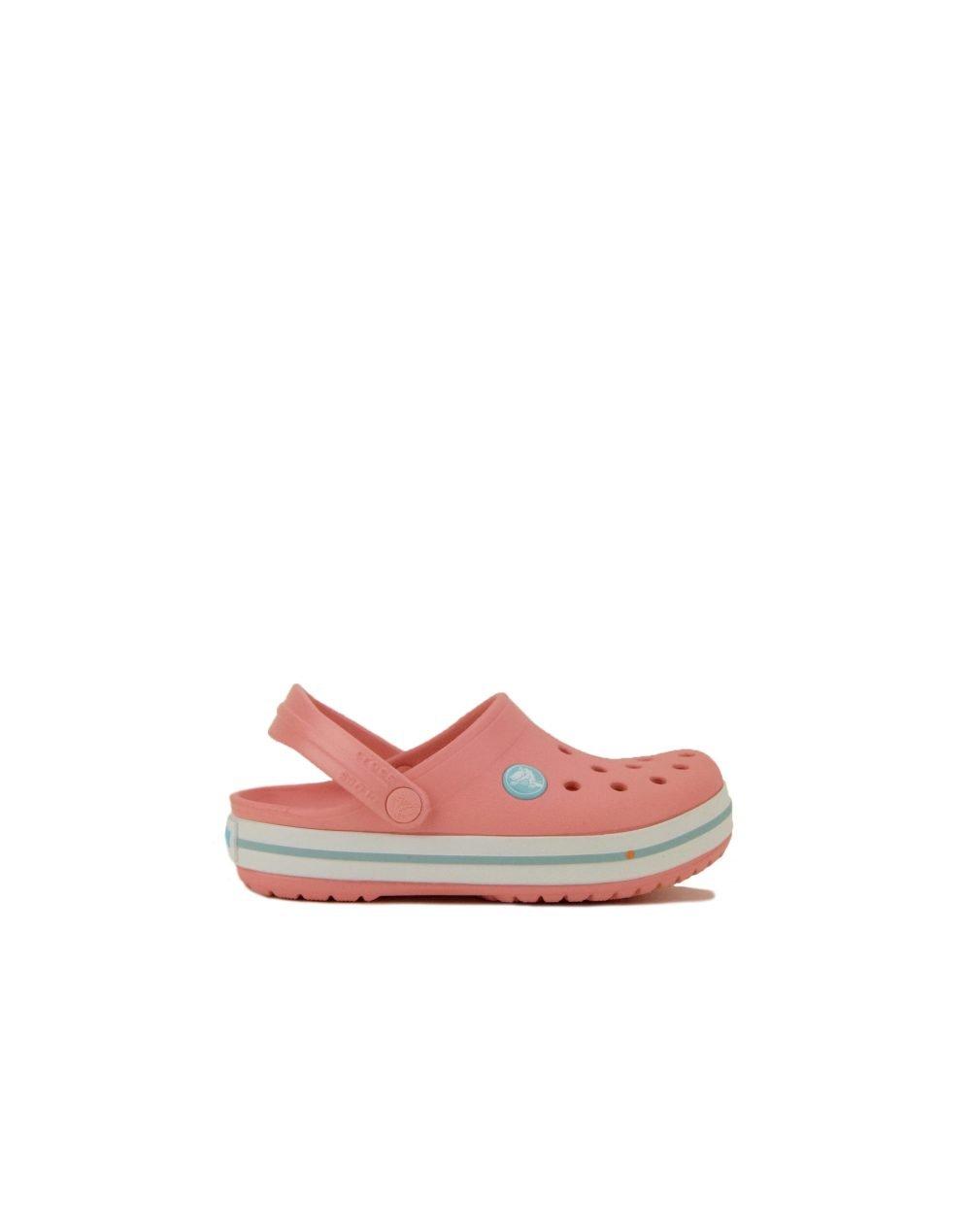 Crocs Crocband Clog Kids (204537-7H5) Melon/Ice Blue