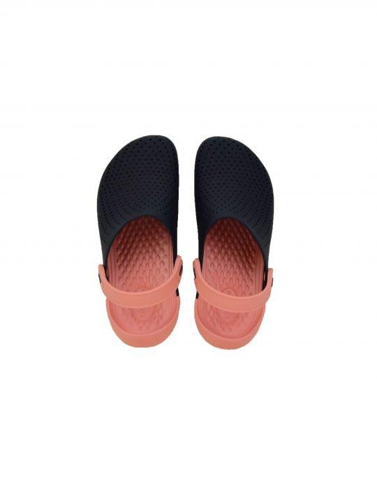 Crocs Literide Clog (204592-4JG) Navy/Melon