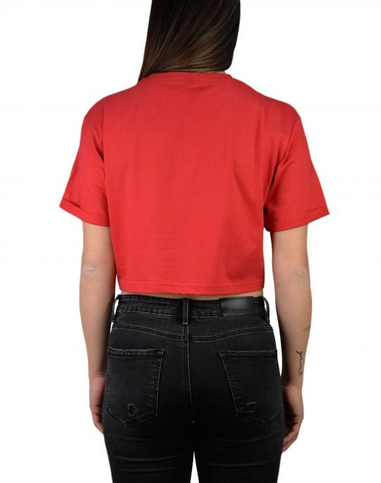 Ellesse Alberta Crop Tee (SGA04484) Red