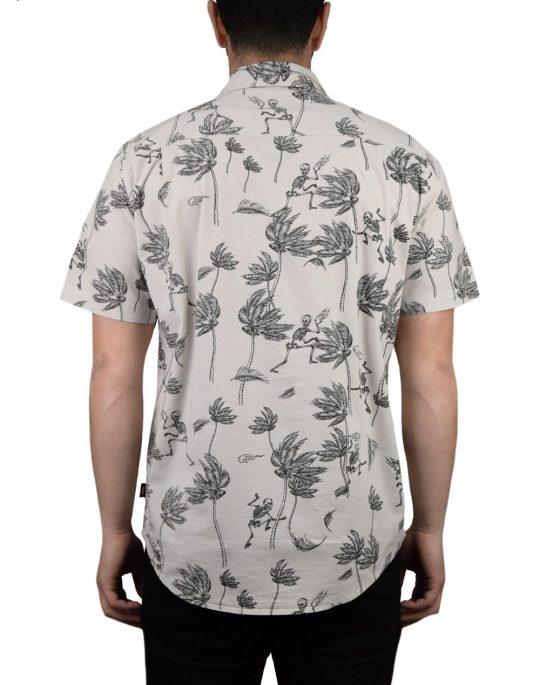 Globe Typhoon Shirt (GB01814014) Bone