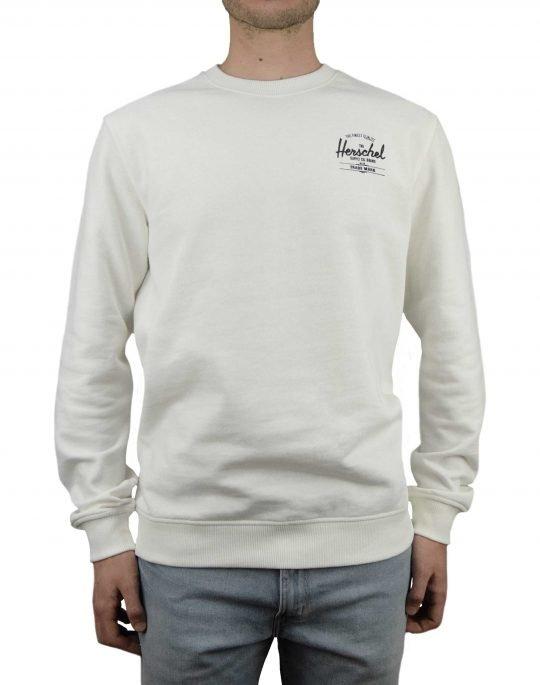 Herschel Supply Co Crewneck Classic Logo (50032-00268) Blanc De Blanc