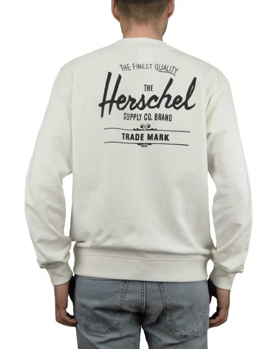 Herschel Supply Co Crewneck Classic Logo (50032-00268) Blanc De Blanc