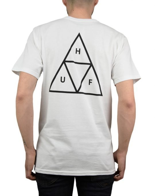 Huf Essentials TT Tee (TS00509) White