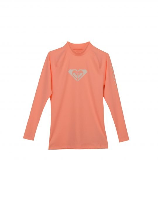 Roxy Whole Hearted Long Sleeve UPF 50 (ERGWR03081-MFG0) Souffle
