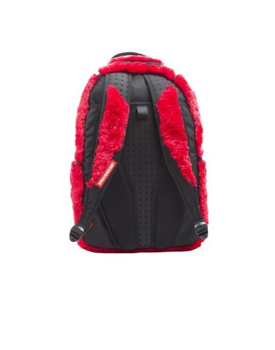 Spraygroud Fur Monster Backpack Red (B1155)