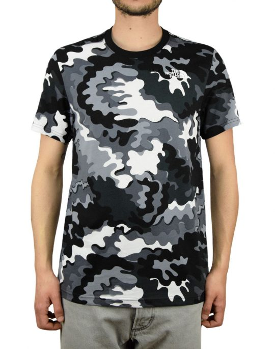 The North Face Red Box Tee (T92TX29VE)  Psychedelic Black