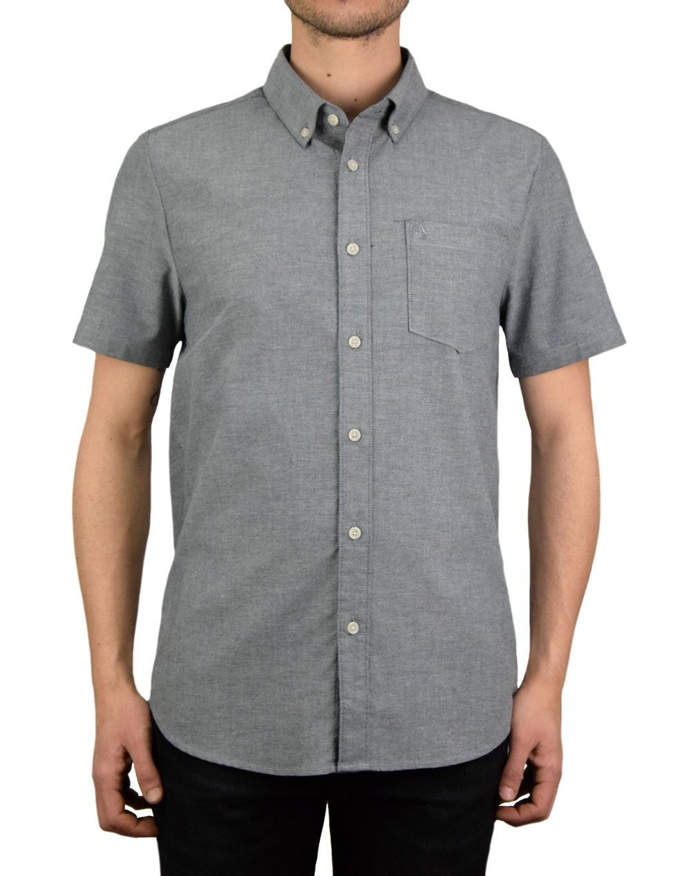 Volcom Everett Oxford Shirt (Α0411801-BLK) Black