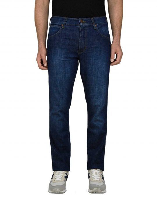 Wrangler Greensboro Regular Straight (W15QQA20Q) Blue Denim