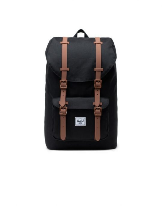 Herschel Supply Co Little America 25L (10014-02462) Black/Saddle Brown