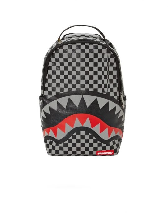 Sprayground 3M Sharks In Paris Backpack (B2049) Black/White