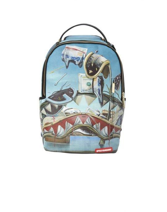 Sprayground Dali Shark Backpack (B2265) Blue