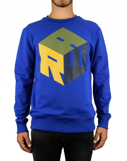 G-Star Raw Graphic 6 Core Sweater (D14157-A613-1855) Hundson Blue