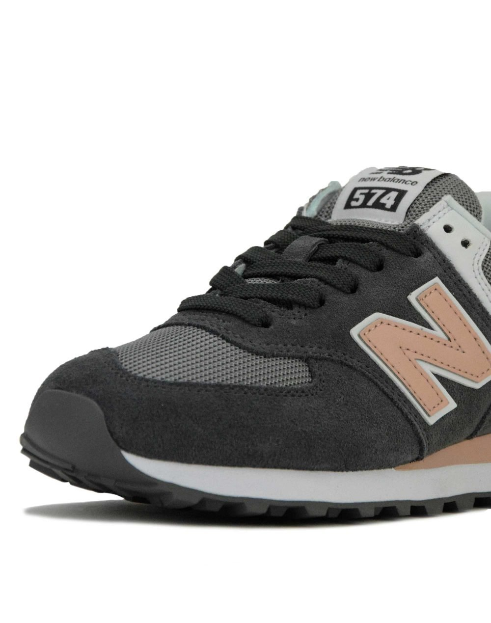 New Balance (WL574NDB) Grey/Pink