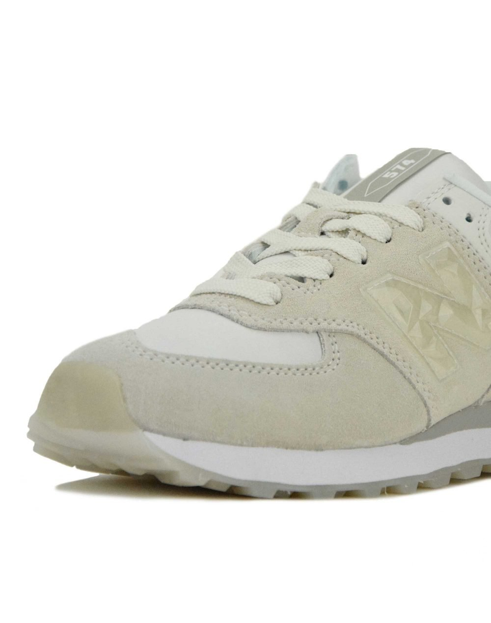 New Balance (WL574WNT) White