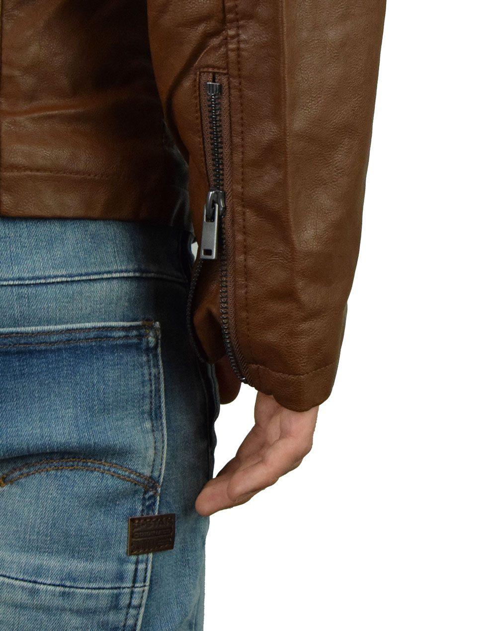 Biston Mens Jacket (42-201-012) Camel