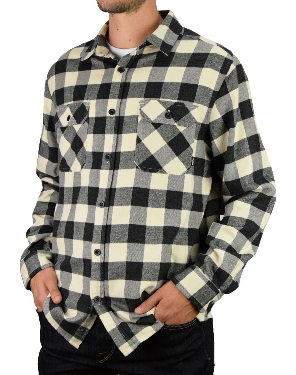 Burton Brighton Shirt (14053111250) Buffalo Heather Grey