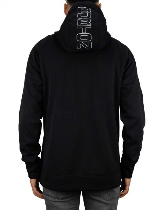Burton Crown Bondie Hoodie (16538108021) True Black