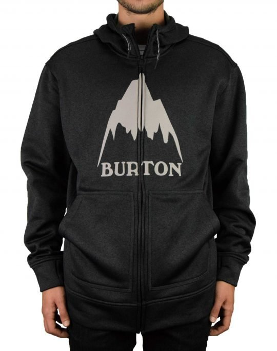 Burton Oak Hoodie (10891108001) True Black Heather