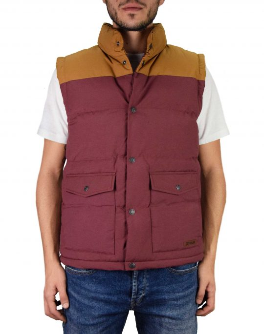 Caterpillar Eaton Vest (2320031 111) Rustic Red
