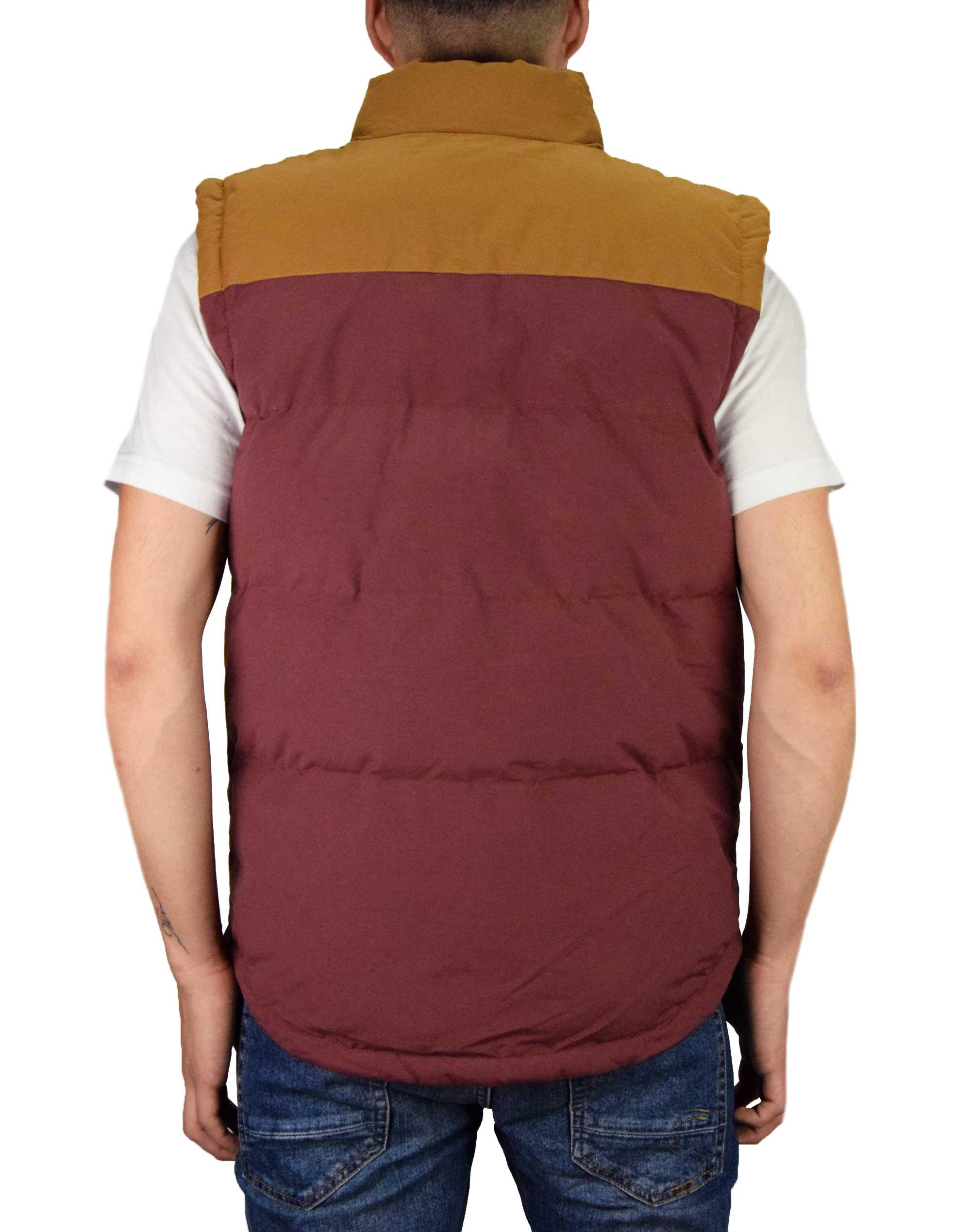 Caterpillar Eaton Vest (2320031 111) Rustic Red
