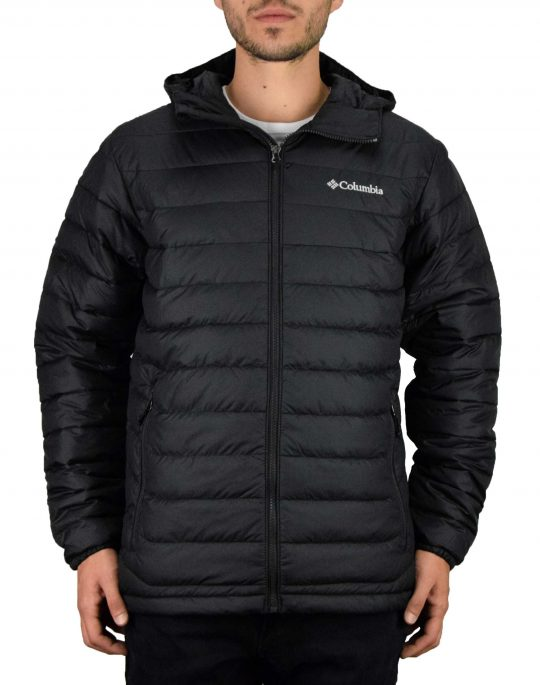 Columbia Powder Lite™ Hooded Jacket (WO1151-010) Black