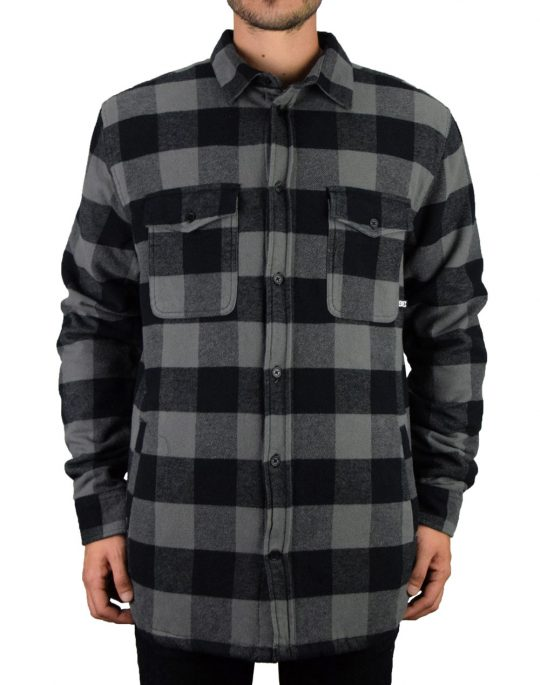 DC Landfilled Overshirt (EDYWT03233 KPF0) Grey