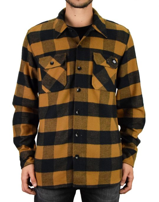Dickies Sacramento Shirt (05 200142) Brown