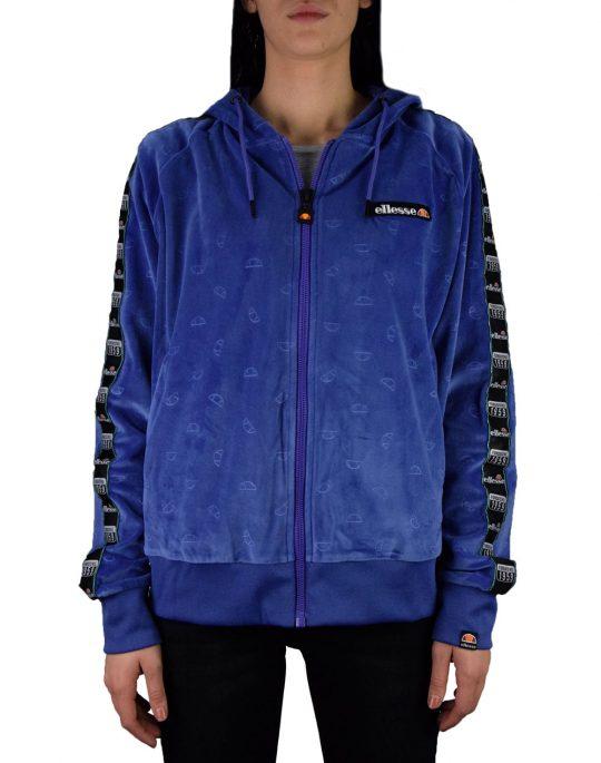 Ellesse Heritage Aosta Velour Fullzip Hoodie (SGC07287) Purple
