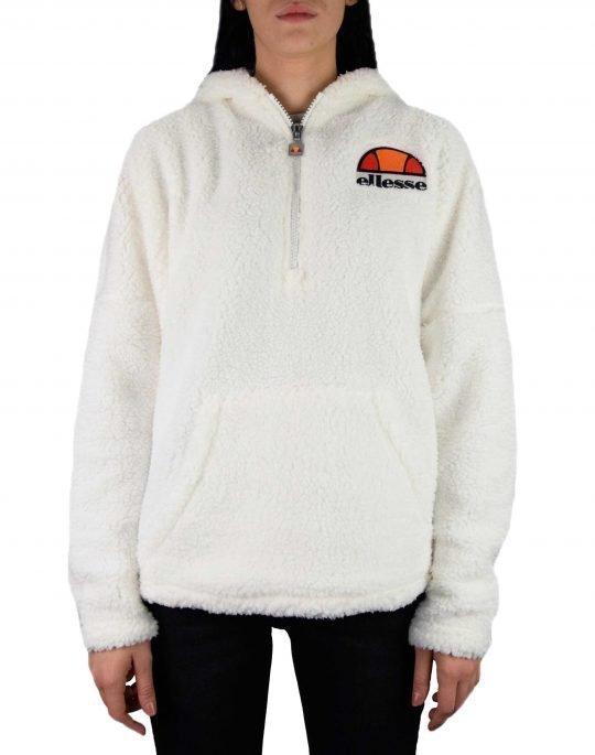 Ellesse Heritage Seppy 1/2 Zip Hoodie Jacket (SGC07488) White