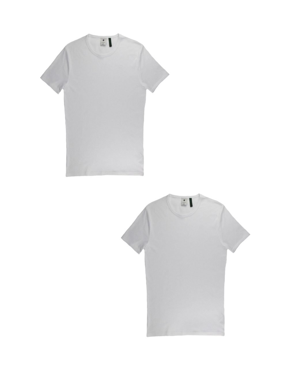 G-Star Raw Basic T-Shirt 2-Pack (D07205-124-110) White