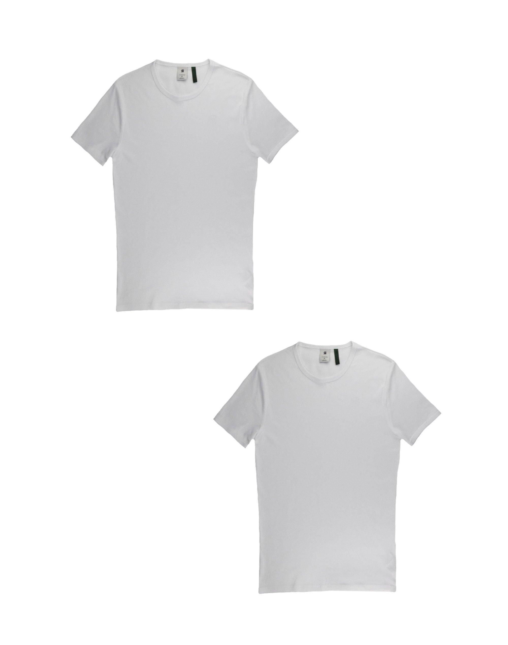 G-Star Raw Basic T-Shirt 2-Pack (D07205-124-110) White