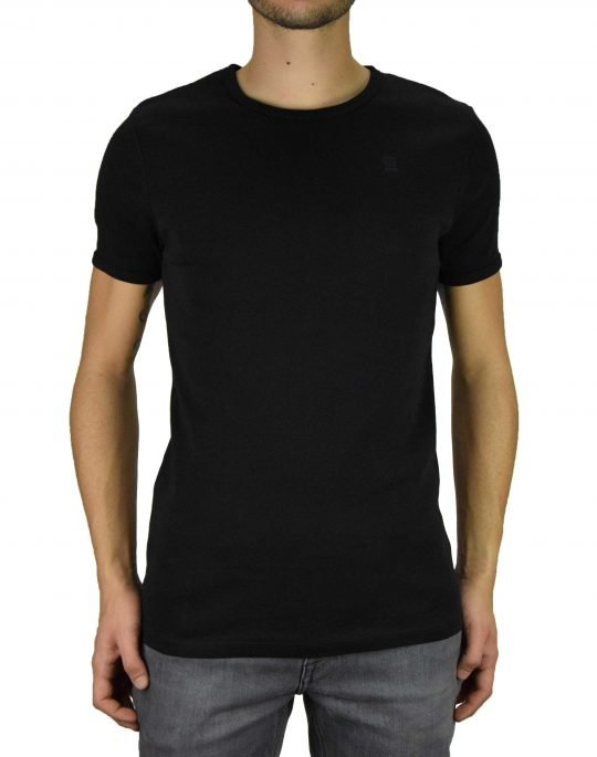 G-Star Raw Basic T-Shirt 2-Pack (D07205-124-990) Black