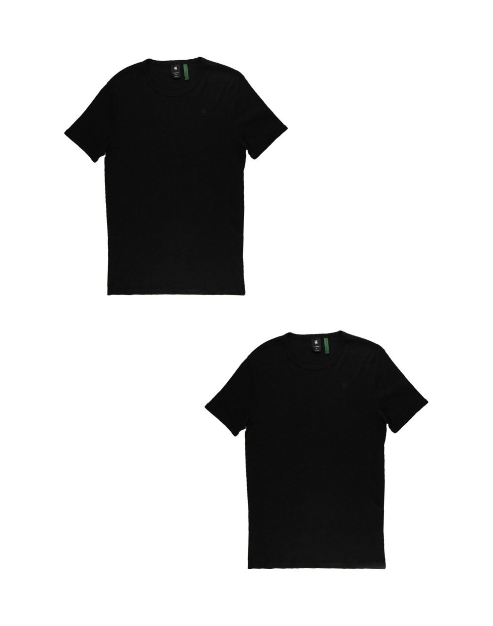 G-Star Raw Basic T-Shirt 2-Pack (D07205-124-990) Black