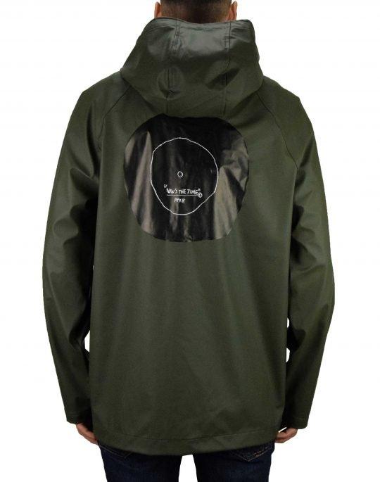 Herschel Supply Co Rainwear Classic Jacket (50001-00450) Basquiat Dark Olive