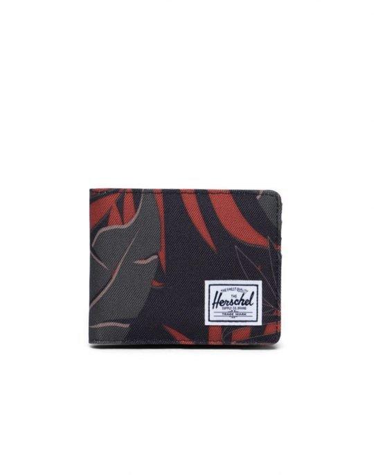 Herschel Supply Co Roy + Coin RFID (10403-02991) Dark Olive Palm