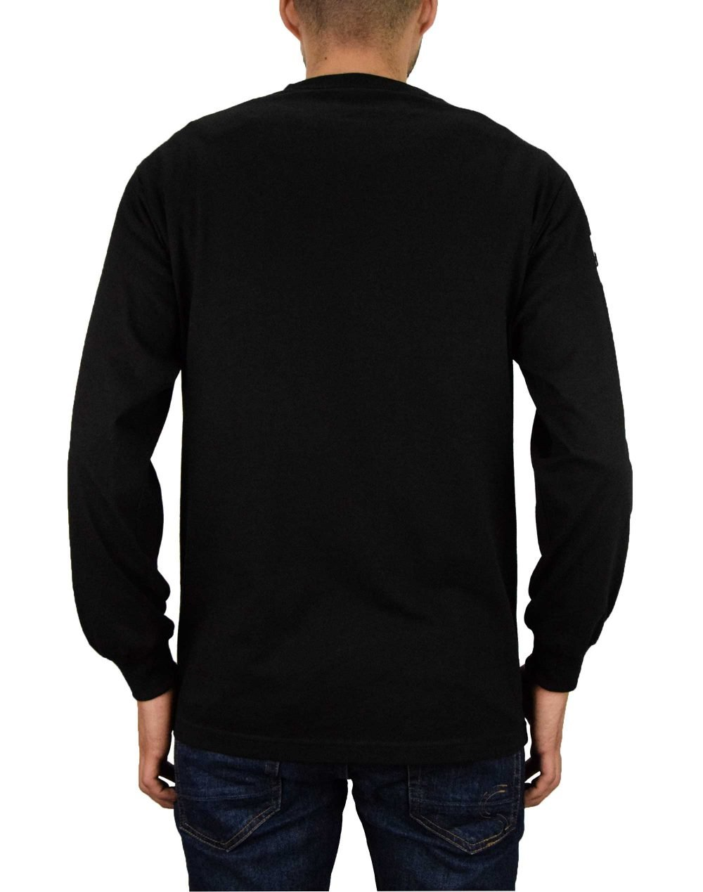 Huf Essentials Domestic LS Tee (TS00146) Black
