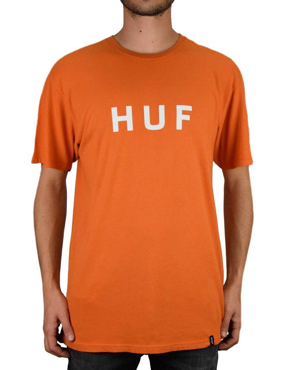 Huf Essentials OG Logo Tee (TS00508) Rust