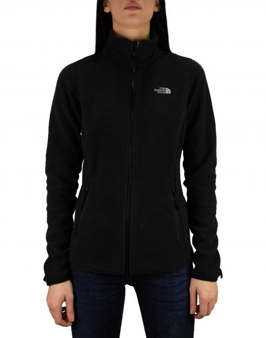The North Face 100 Glacier Full Zip (T92UAUJK3) Black