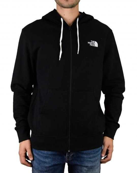 The North Face Open Gate Fullzip Hoodie (T0CG46C4V) Black