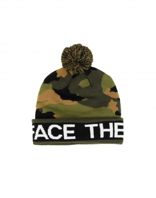The North Face Ski Tuke V Beanie (T0CTH9FQ9) Burnt Oive Green Camo