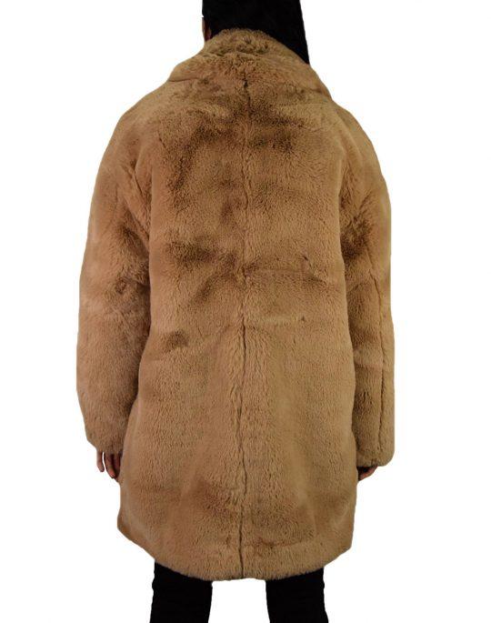 Volcom Phewfur Coat (B1531961 CML) Camel