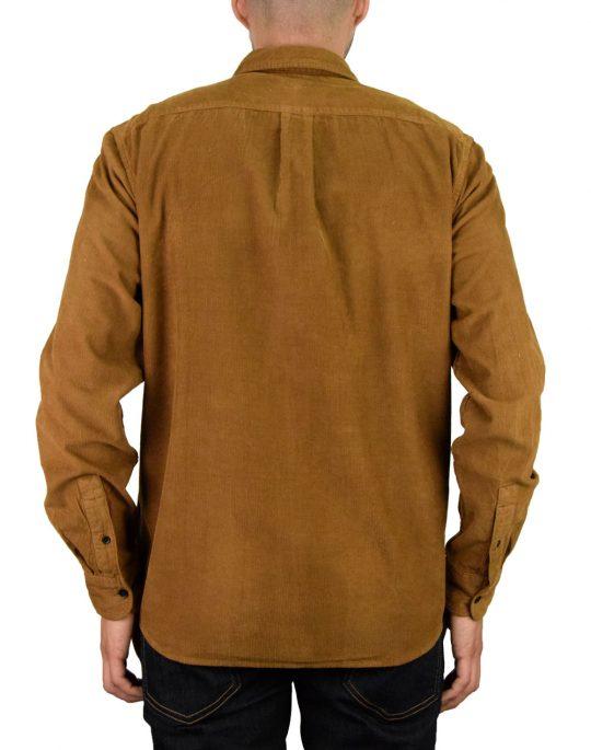Wrangler 2PKT Flap Shirt (W5A5TCXMA) Russet Brown