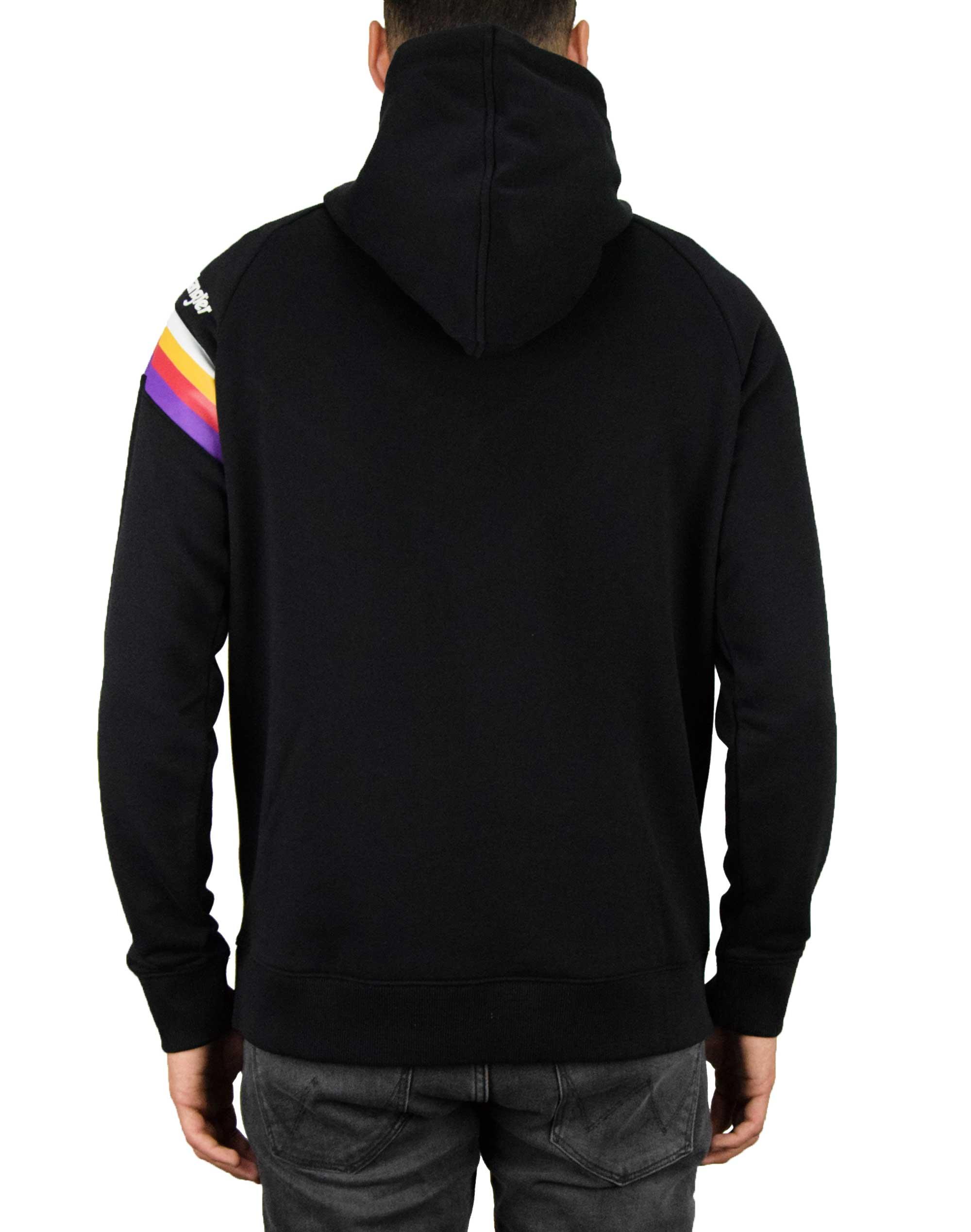 Wrangler Cut & Sew Hoodie (W6A7IK100) Black