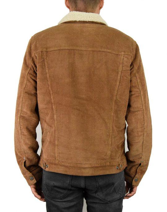 Wrangler Sherpa Jacket (W423UPXMA) Russet Brown