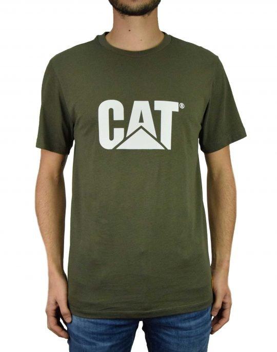 Caterpillar Classic Cat Tee (2511243 123) Green BS