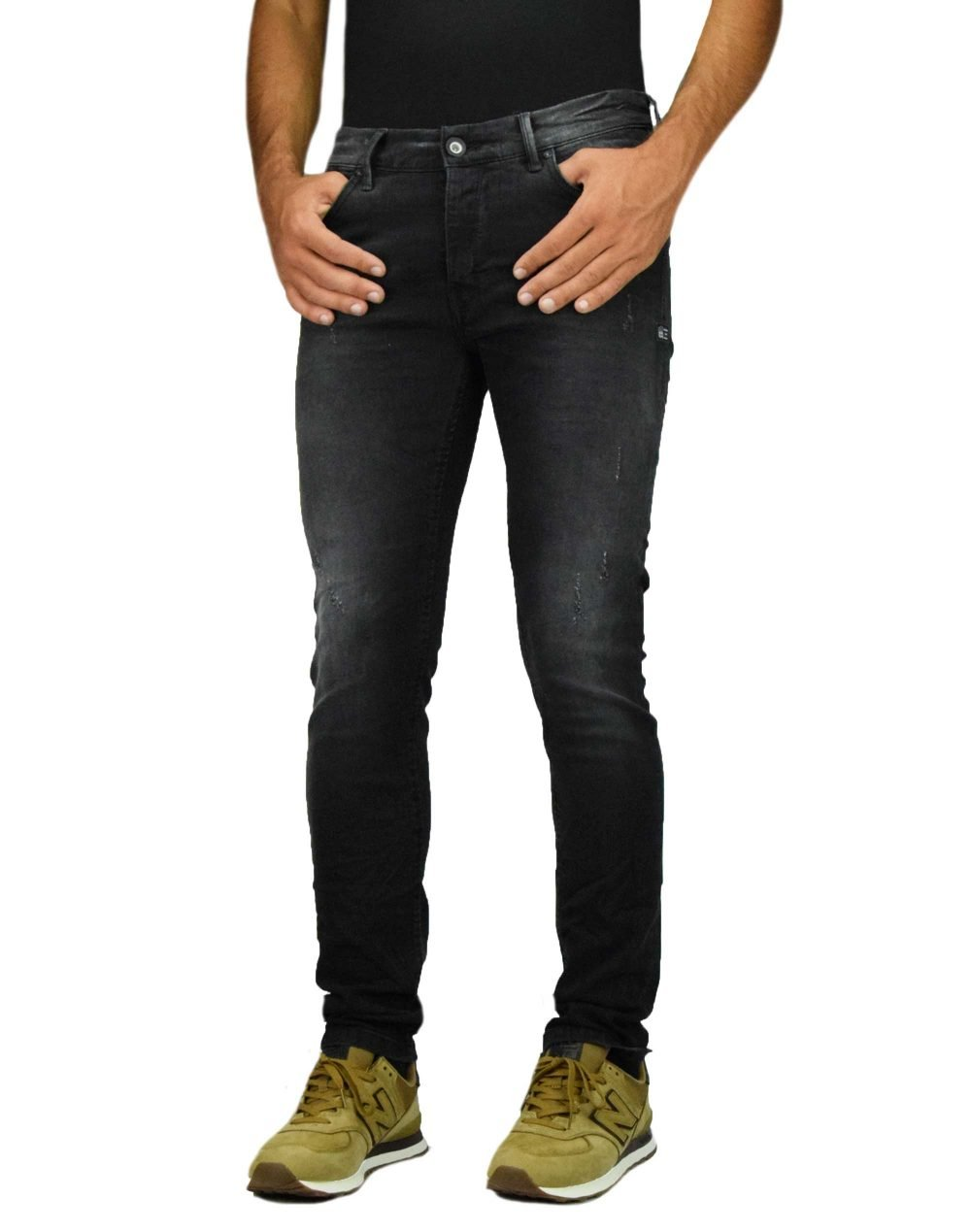 Cover Bruno Skinny (G5560) Black Denim
