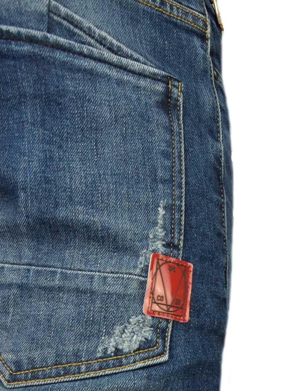 Cover SK8 Loose Skinny Fit (D5274) Bleach Denim
